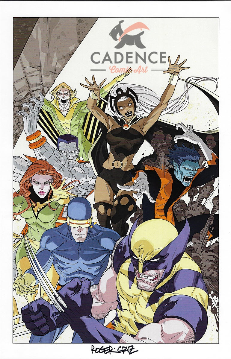 Image of X-Men Print A by Roger Cruz (Signed)