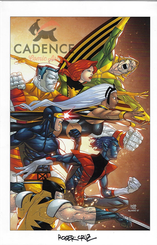 Image of X-Men Print B by Roger Cruz (Signed)