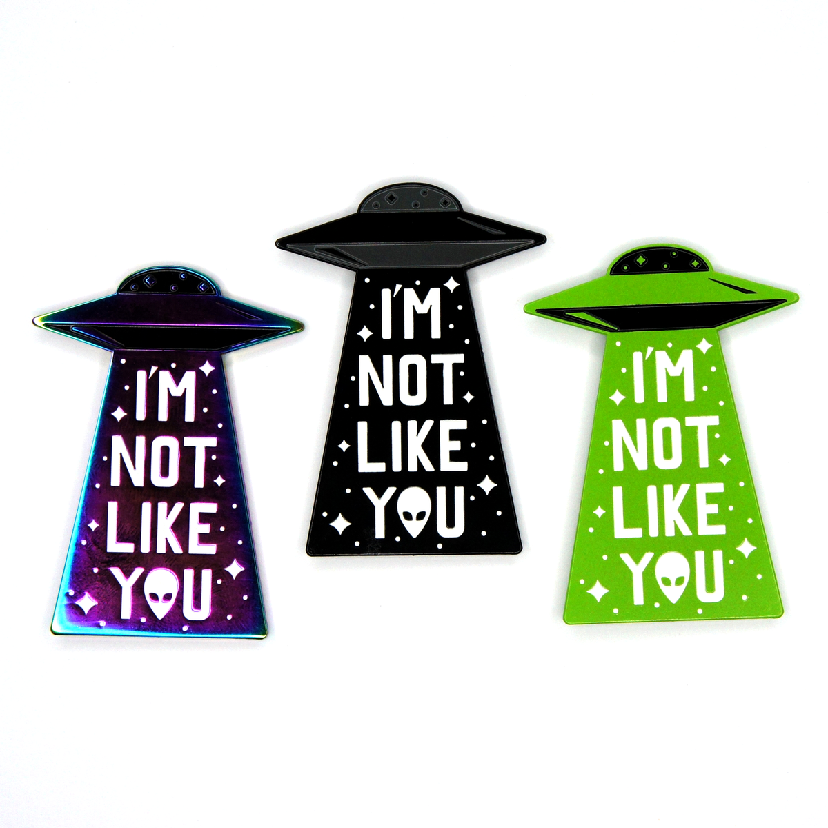 UFO Enamel Pin Pack