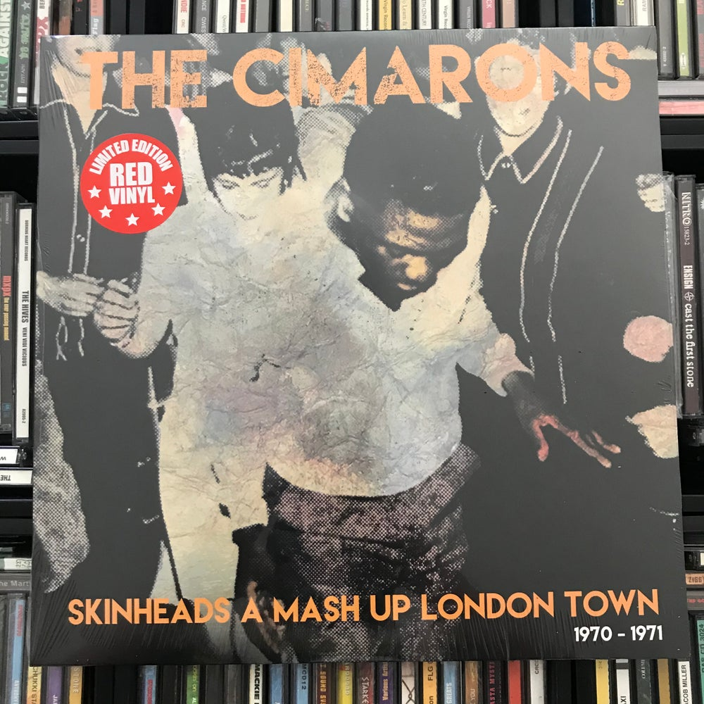 Image of The Cimarons - Skinhead A Mash Up London Town Vinyl LP