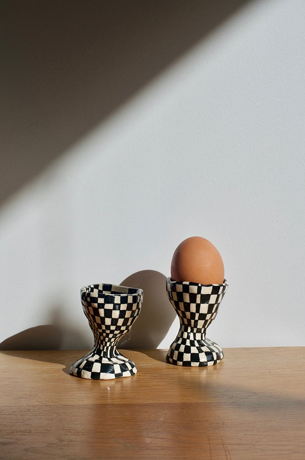 Image of Ceramic Egg Cup by Samantha McIntyre