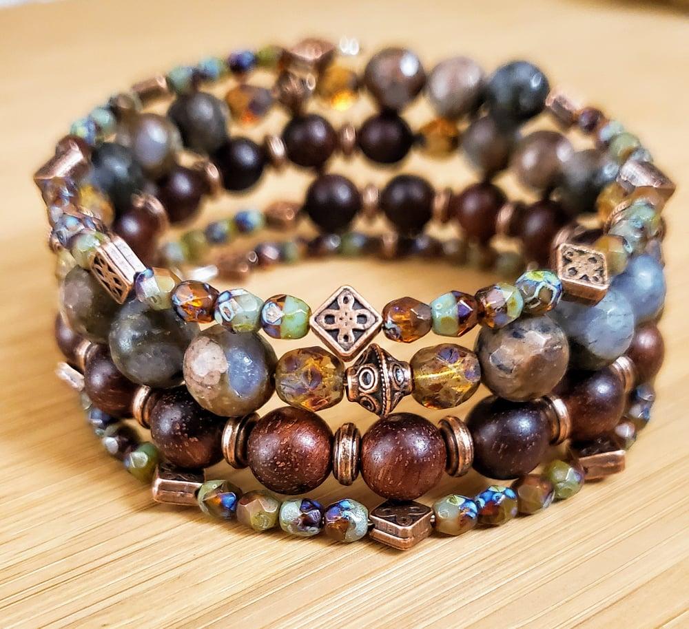 Image of Autunm Trail Wrap Bracelet