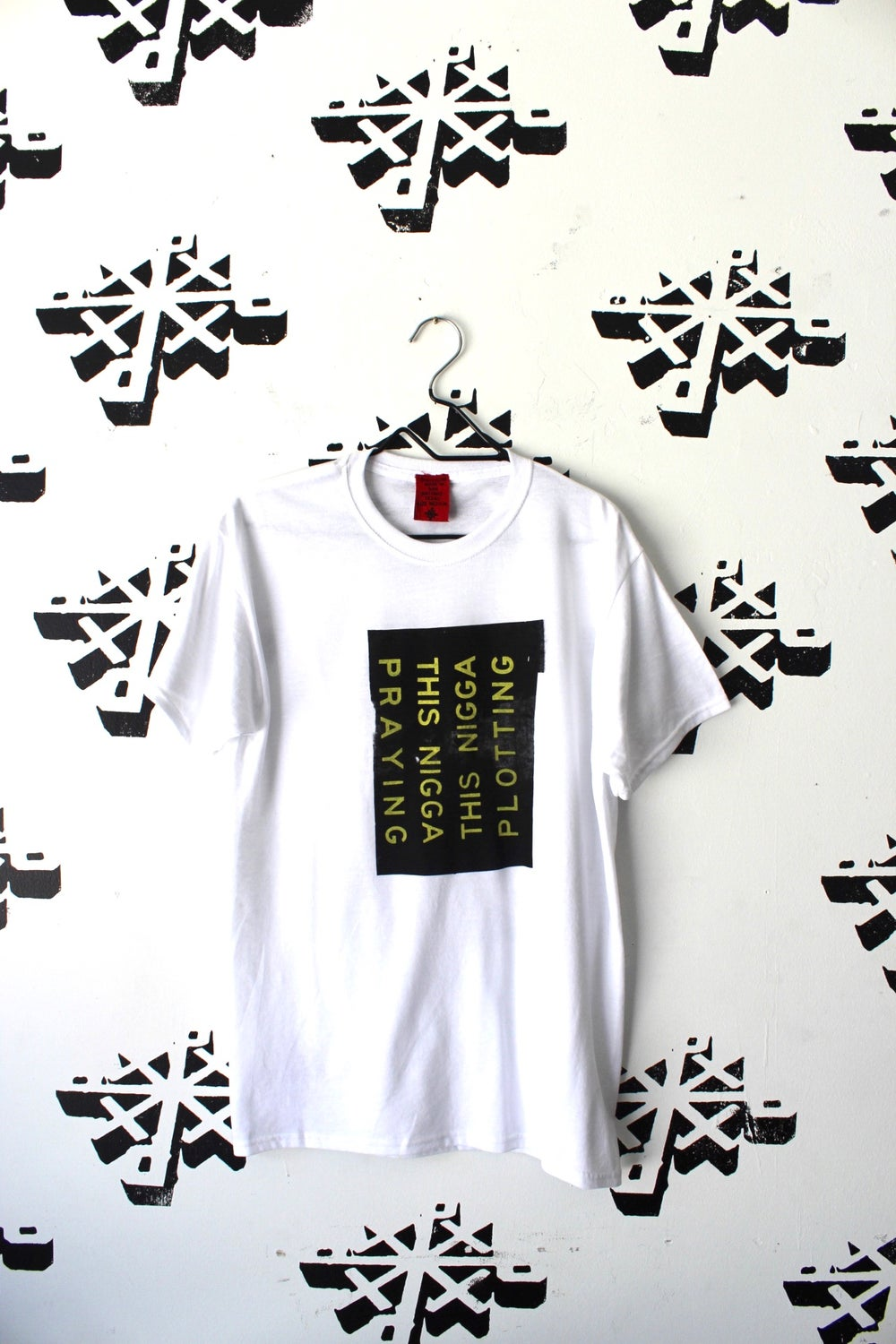 this one tee in white