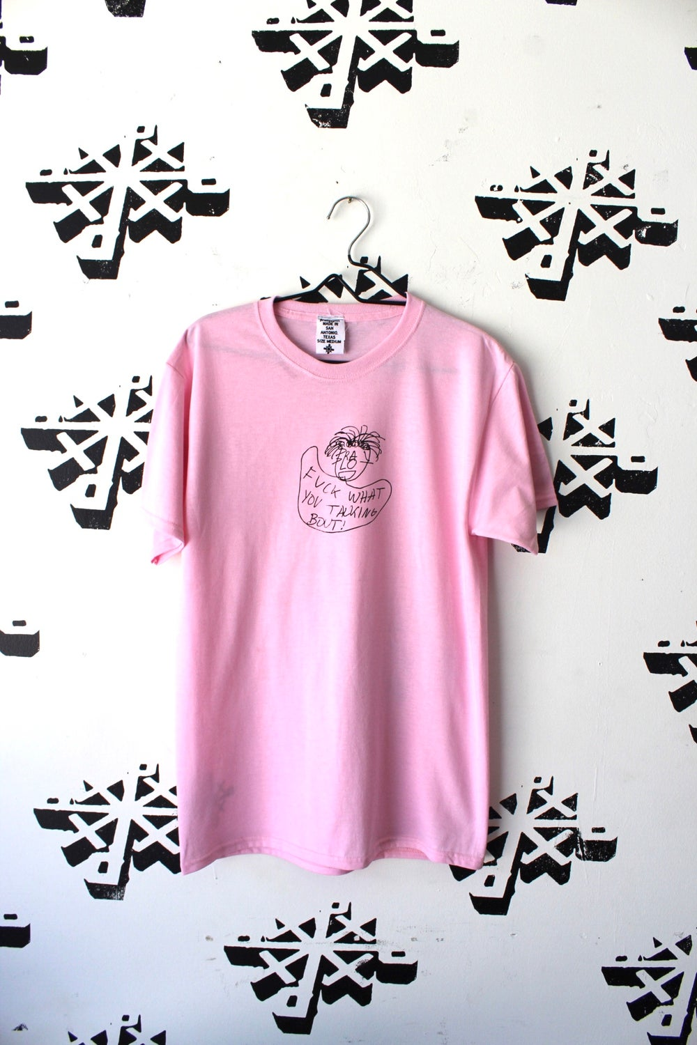 fuck all that tee in pink