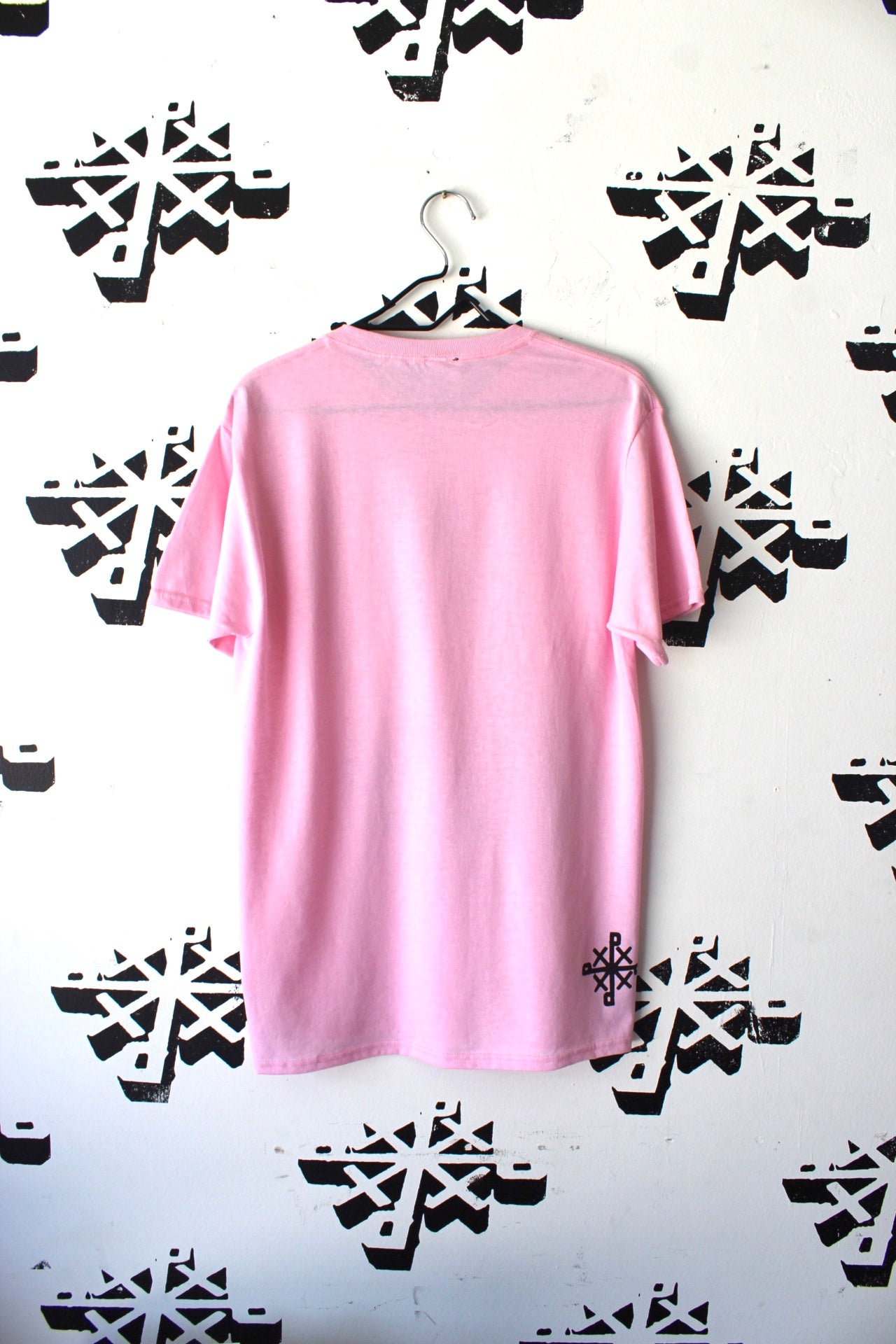 Image of fuck all that tee in pink