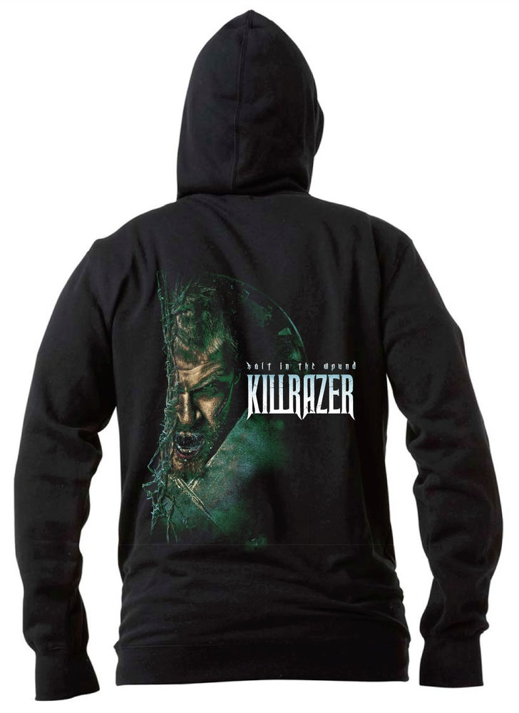 Image of HOODIE - Killrazer 'Salt In The Wound'