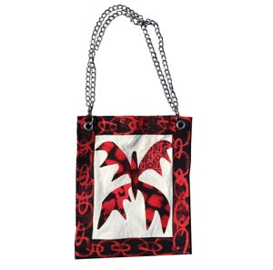 Scarlet Butterfly Chain Bag