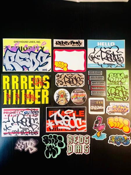 Image of Reds MEGA Sticker Pack