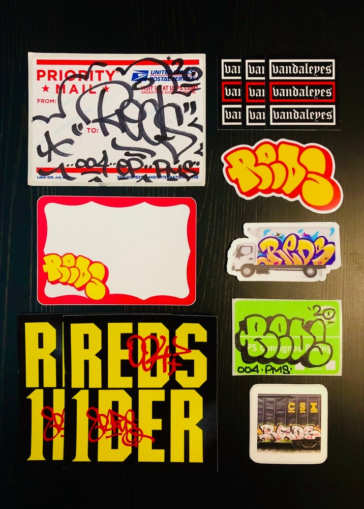 Image of Reds Sticker Pack 002