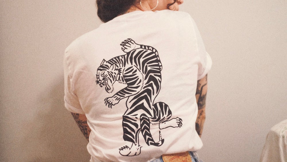 Tiger Tee (Color Options Available)