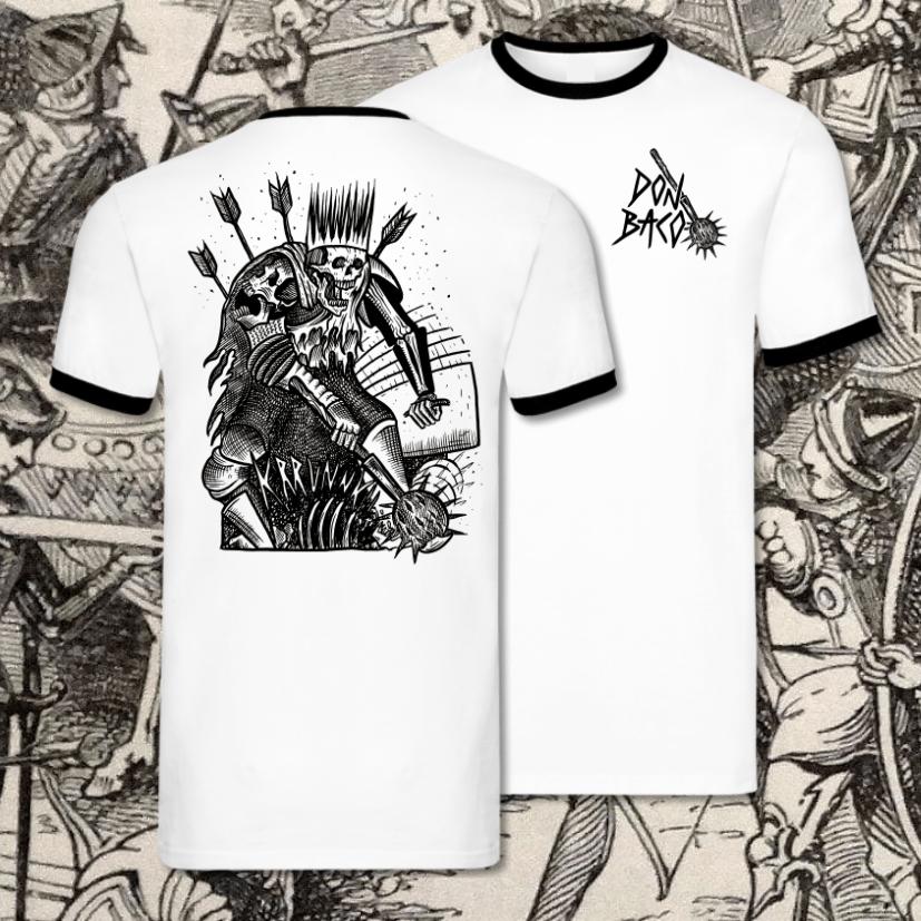"Image of Ringer Shirt ""Krunk"" Unisex (Fair, Bio und Vegan)"