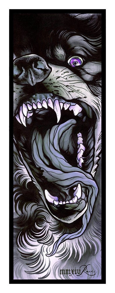 Image of Wolf Print by Rachi - Variant Colour