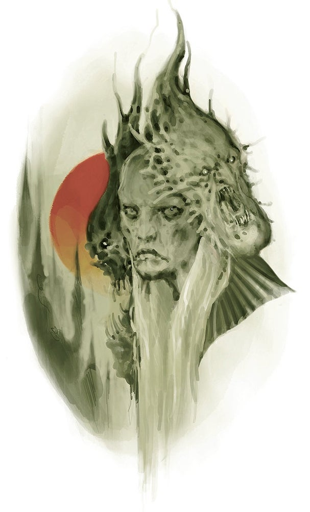 Image of Dune Witch Print by Rachi
