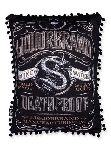 Image of LIQUORBRAND Whiskey Pillow