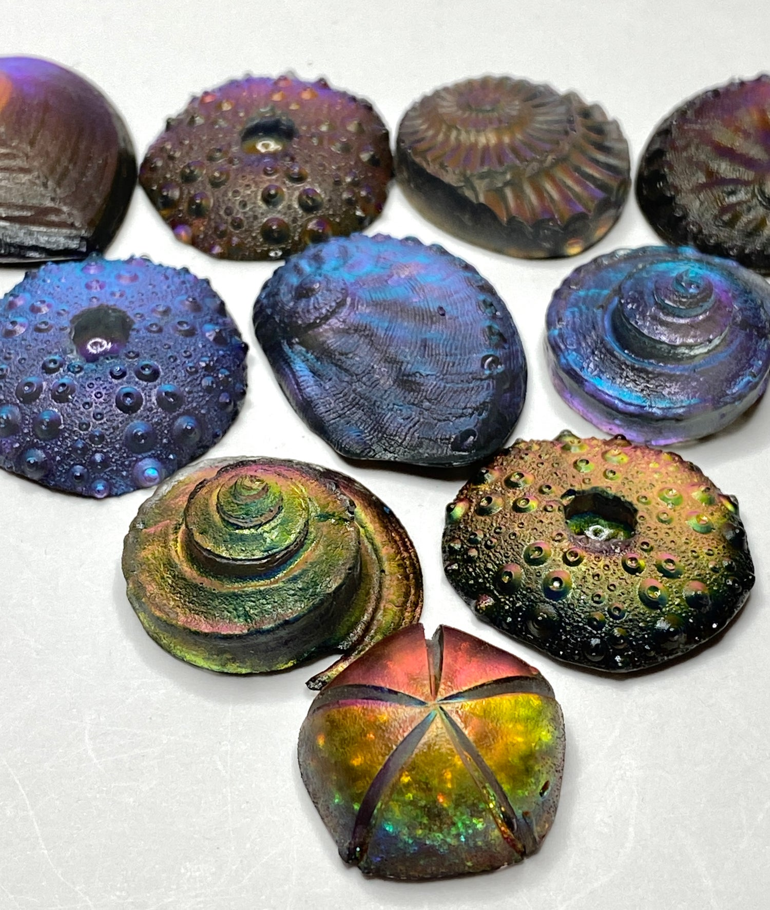 Resin Glow~Cabochons~ 10 choices