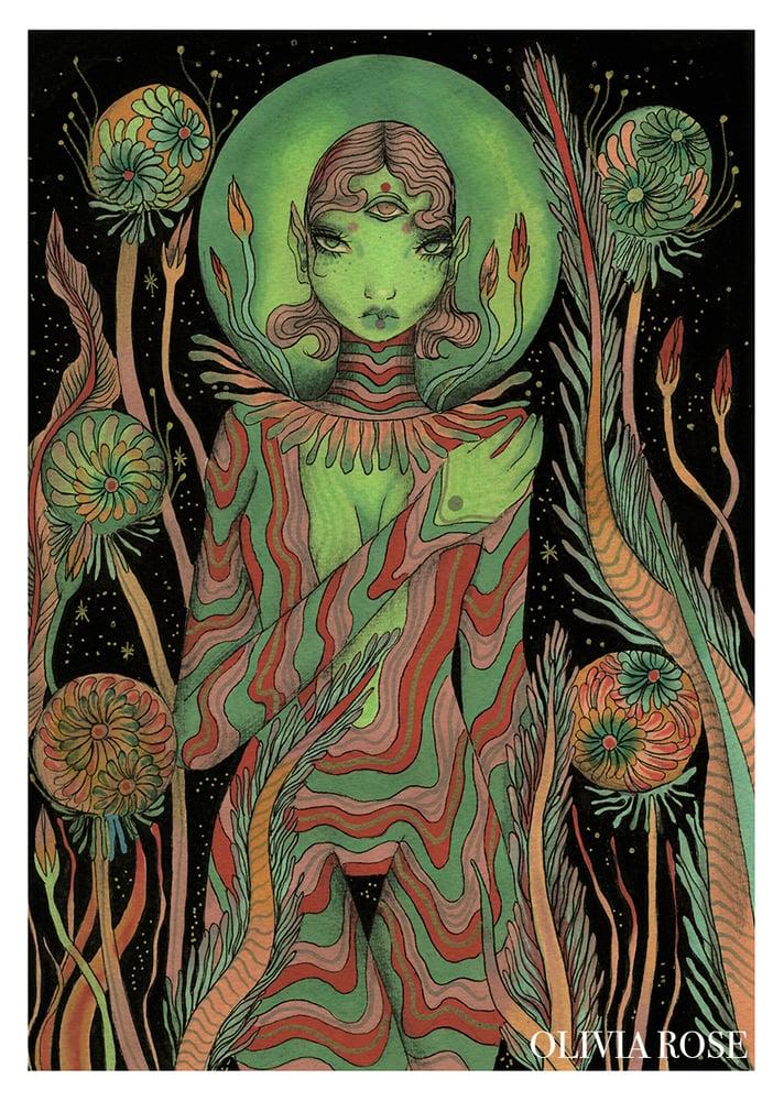 Image of Alien Garden print