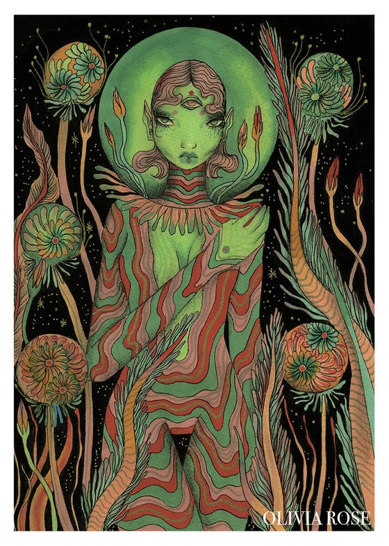 Image of Alien Garden print