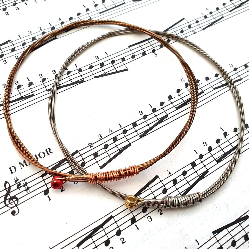 Image of TRAMPOLENE Guitar String Bracelet