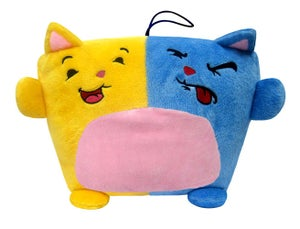 Image of The Yellow and Blue Kitty