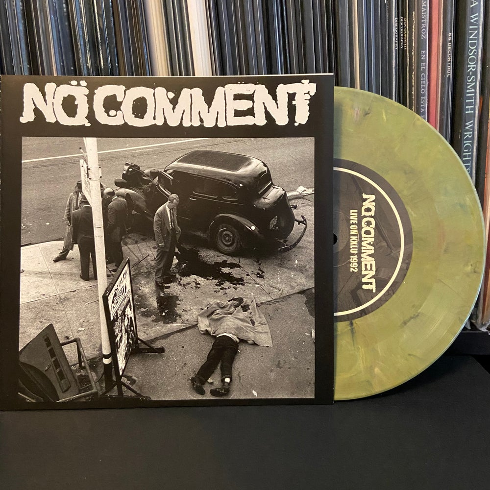 "NO COMMENT ""Live On KXLU 1992"" 7"" EP"