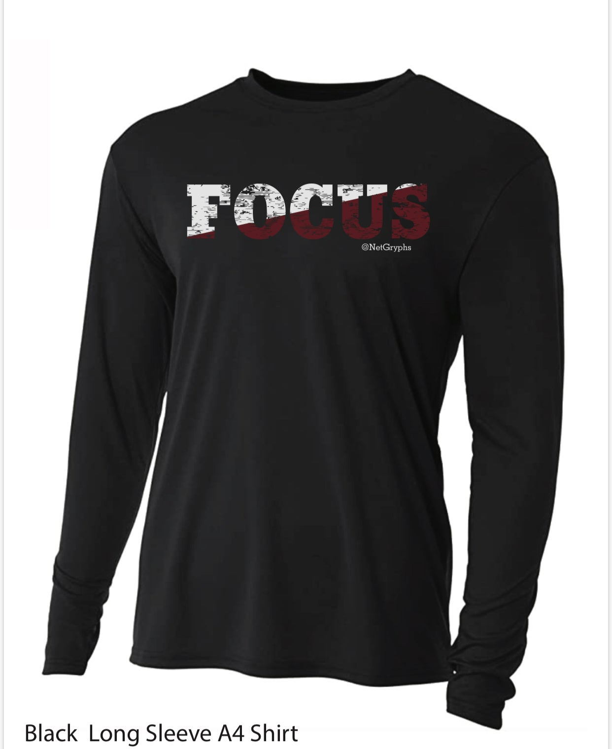 Image of FOCUS - SG Performance Long Sleeve (Middle)