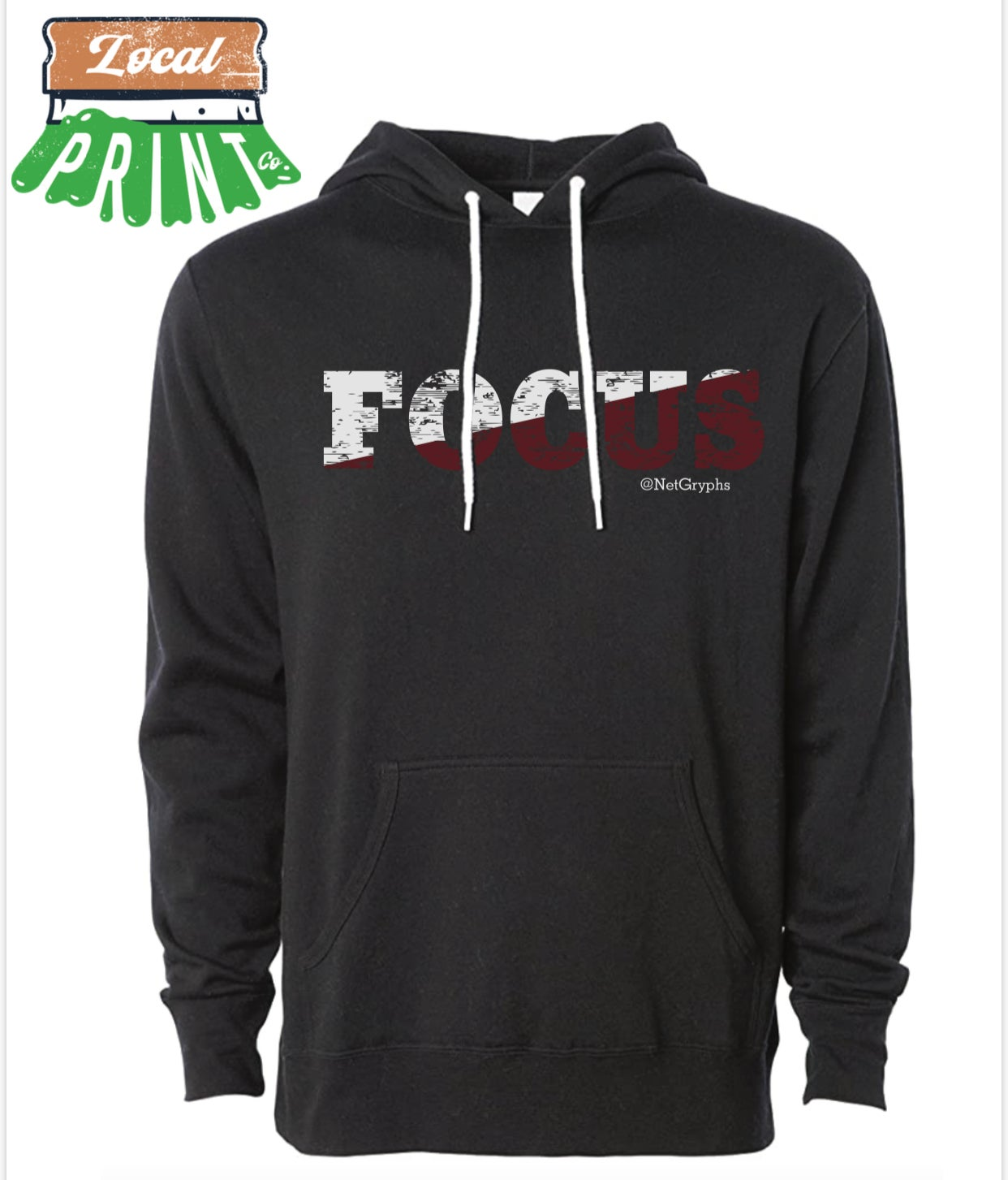 Image of FOCUS - SG Lightweight Sponge Fleece Hoodie(Middle)