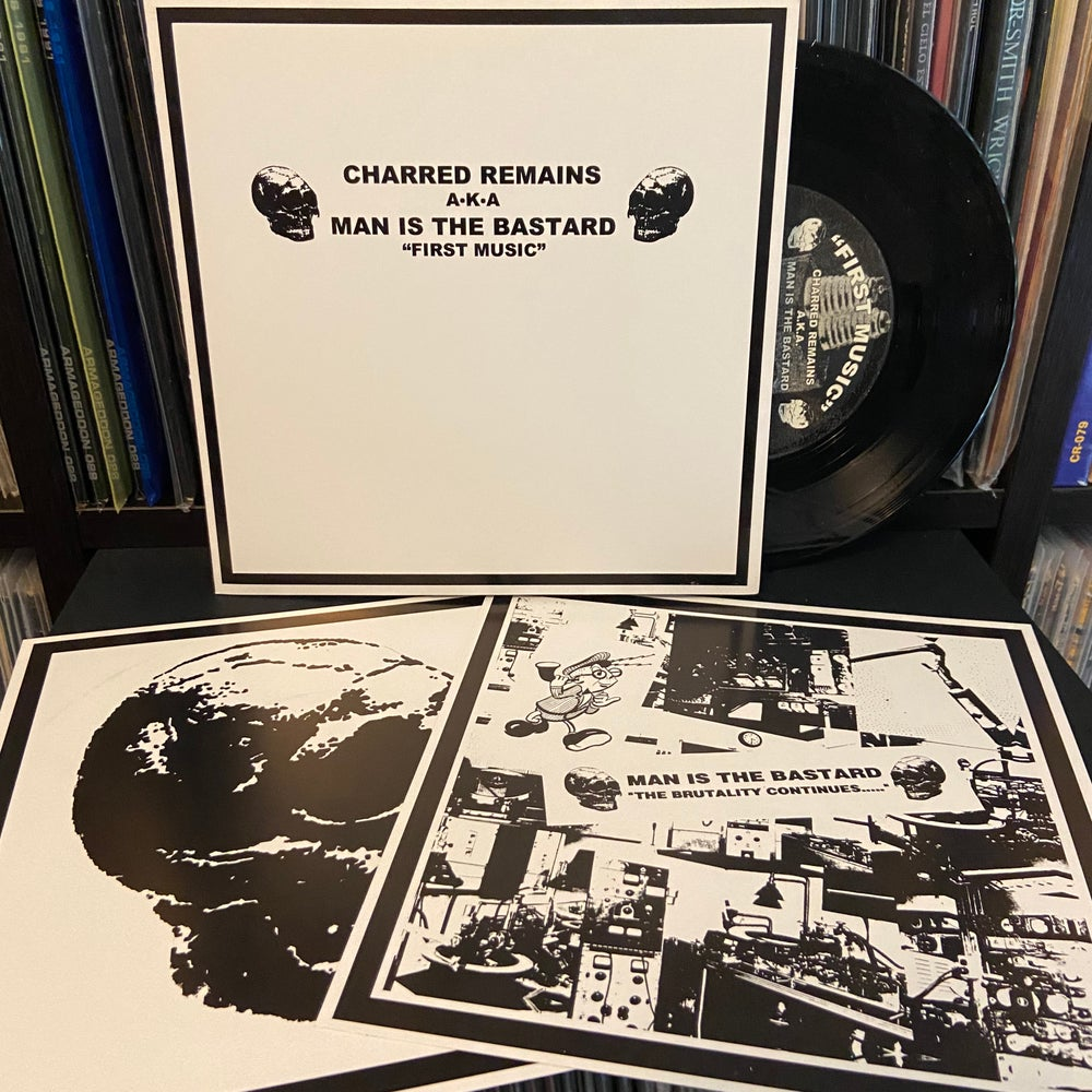 """MAN IS THE BASTARD / BASTARD NOISE """"First Music First Noise"""" 7"""" EP"""