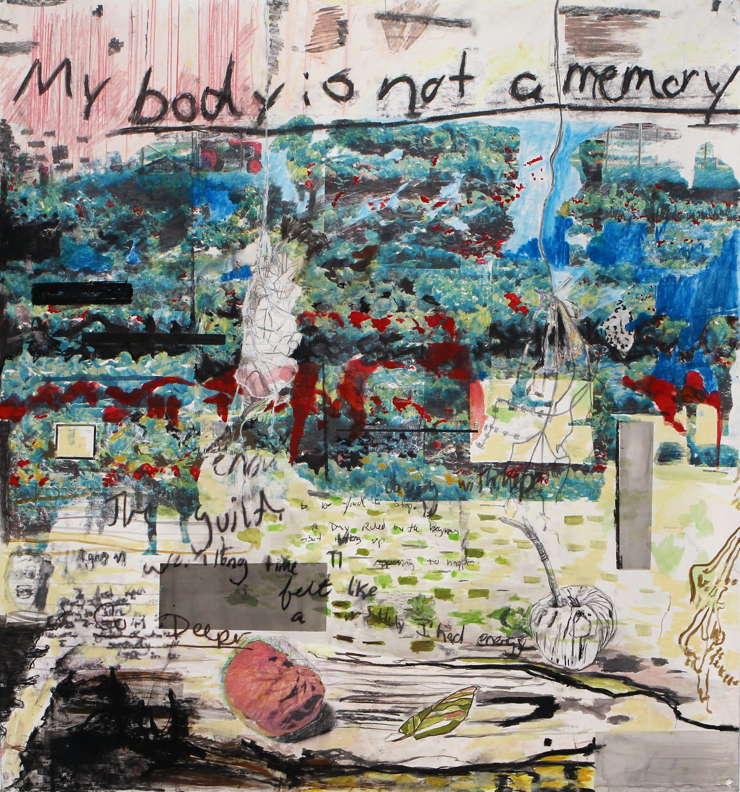 MY BODY IS NOT A MEMORY - PRINT