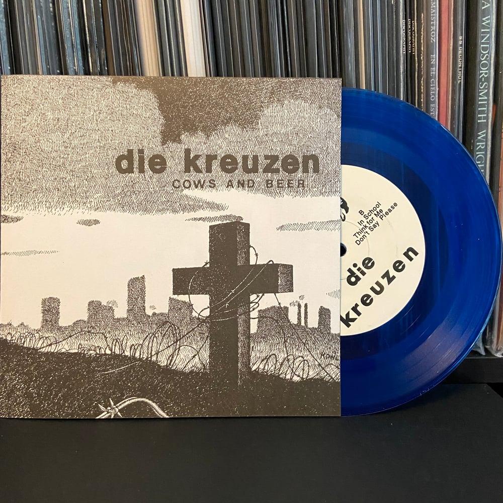 """DIE KREUZEN """"Cows And Beer"""" 7"""" EP"""