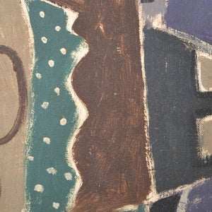 Image of 1944, British School Abstract, 'Still Life with Pears.'