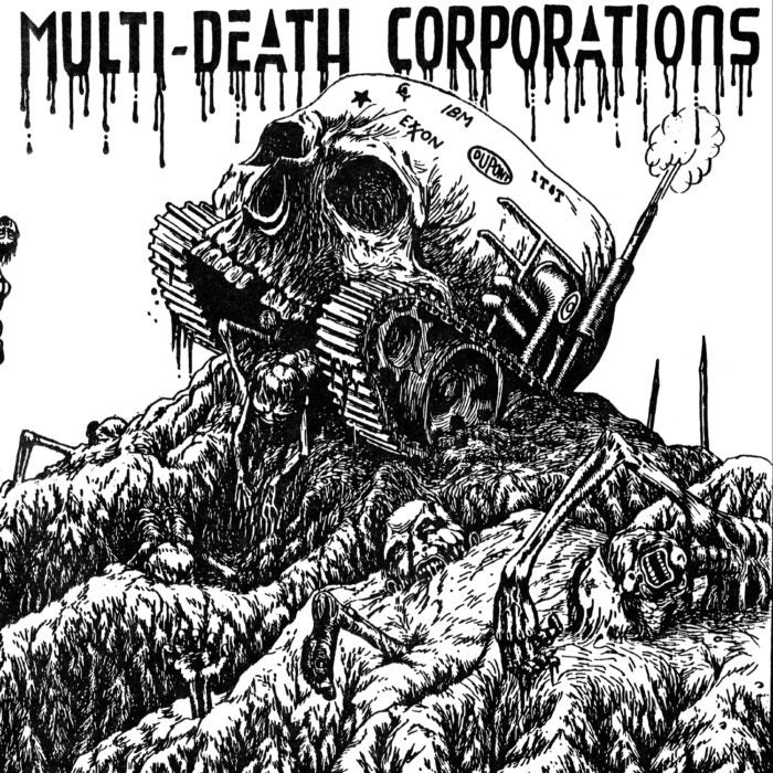 "MDC ""Multi Death Corporations"" 7"" EP"