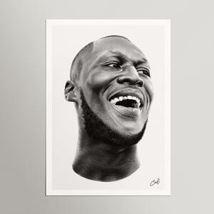 Image of 'STORMZY' - Print