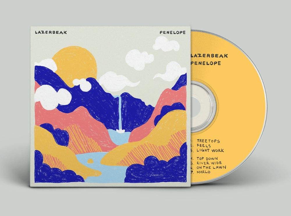 Image of Lazerbeak - Penelope (CD)