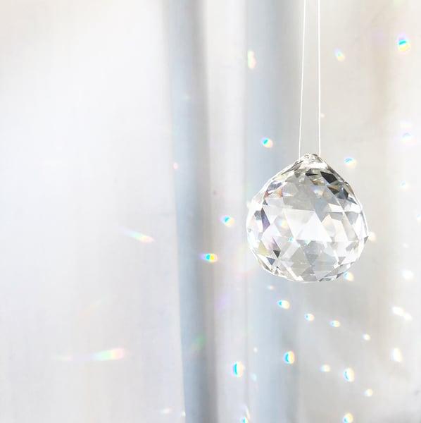 Image of Suncatcher Hanging Glass Crystal