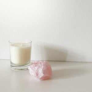 Image of Rose Quartz Crystal Nuggets - Small