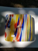 Image of Fused glass lamp #1.