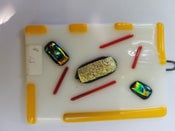 "Image of Fused glass ""painting "" #3"