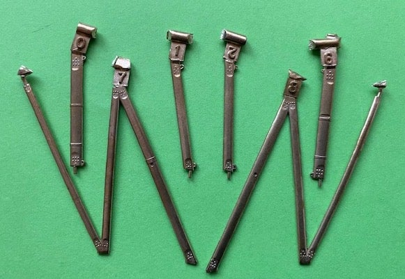 Image of Stearman PT-17 wing strut set for the ICM kits