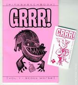 Image of GRRR! Pink Sketchbook Vol. 1 - Scott Morse