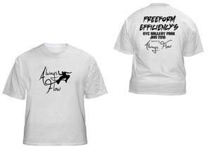 Image of Freeform Efficiency's 2010 NYC Jam t-shirt