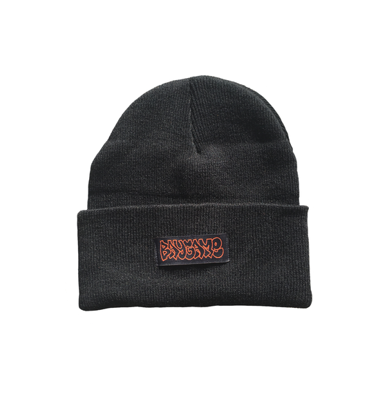 Image of Baygame Hollow Beanie  - Black