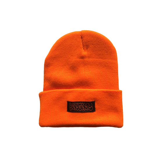 Image of Baygame Hollow Beanie - Orange