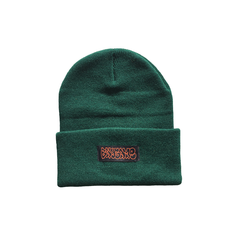 Image of Baygame Hollow Beanie - Green