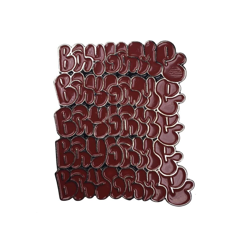 Image of Baygame Enamel Pin Badge