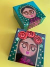 Hand painted Jewelry Boxes