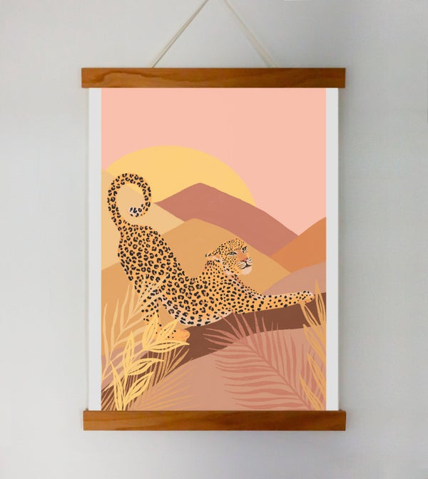 Image of Morning Leopard