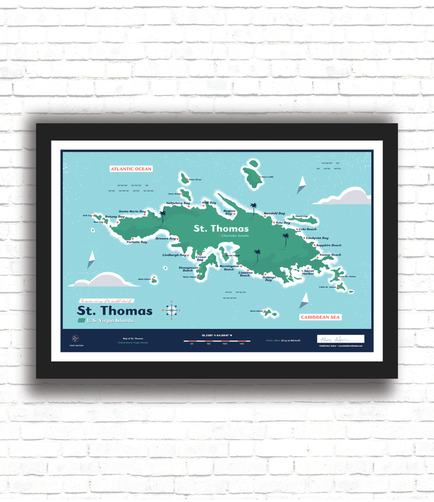 Image of St. Thomas Map
