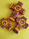 Sunflower /Pink Set of Crosses