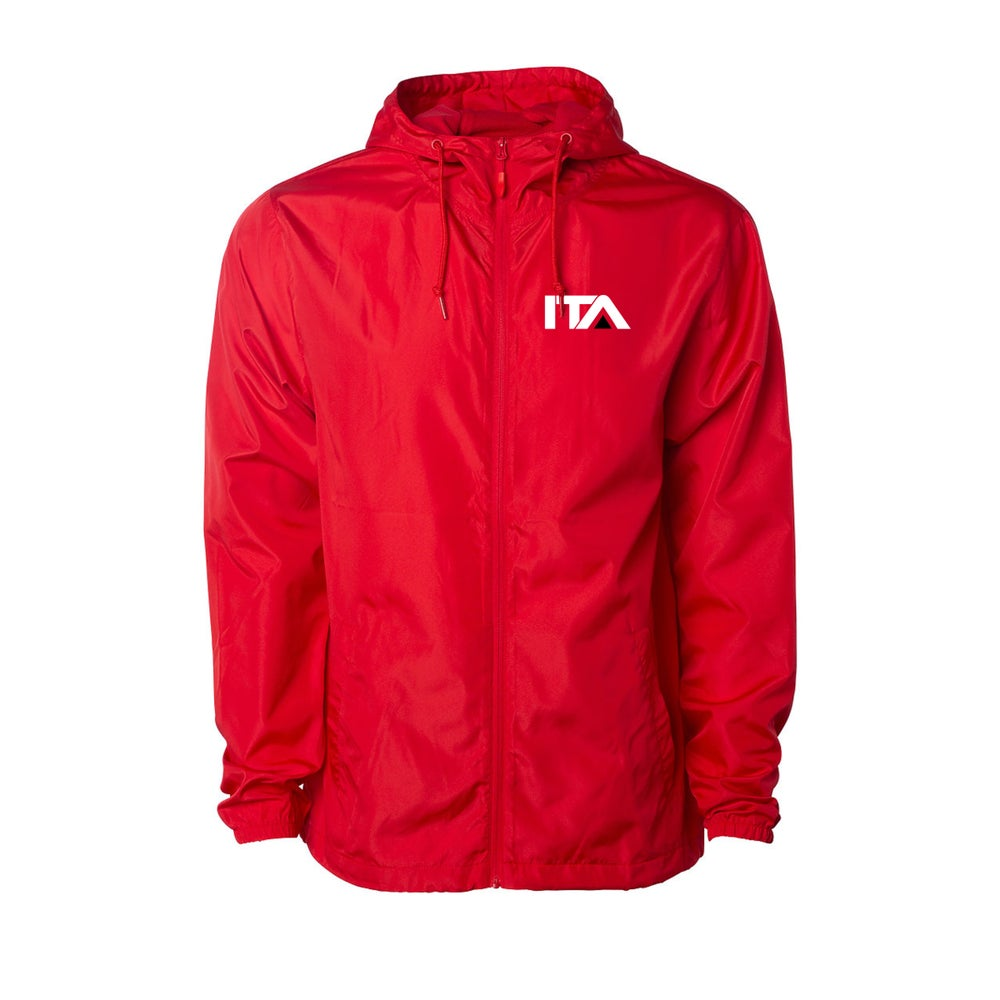 Image of ITA Red Windbreaker