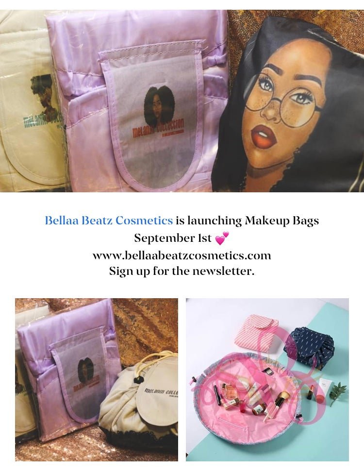"Image of ""MELANIN"" Makeup Bag"